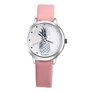 PINK Pineapple Analog Quartz Watch NEW!!!